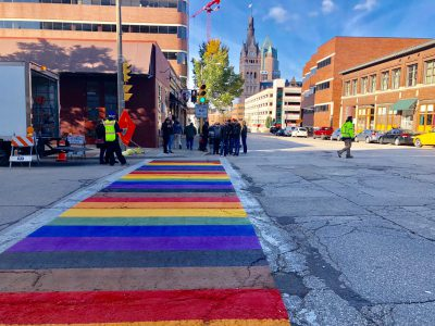 Eyes on Milwaukee: Milwaukee Pride, City Debut Rainbow Crosswalks
