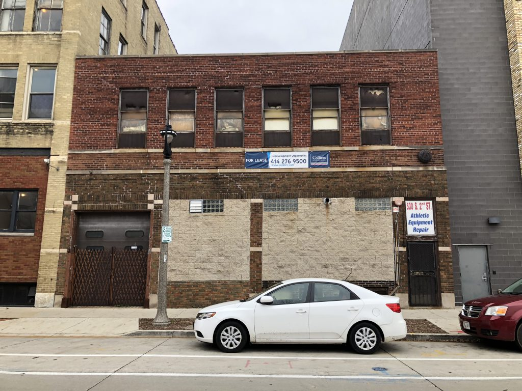 Indeed Brewing's future home at 530 S. 2nd St. Photo taken November 8th, 2018 by Jeramey Jannene.