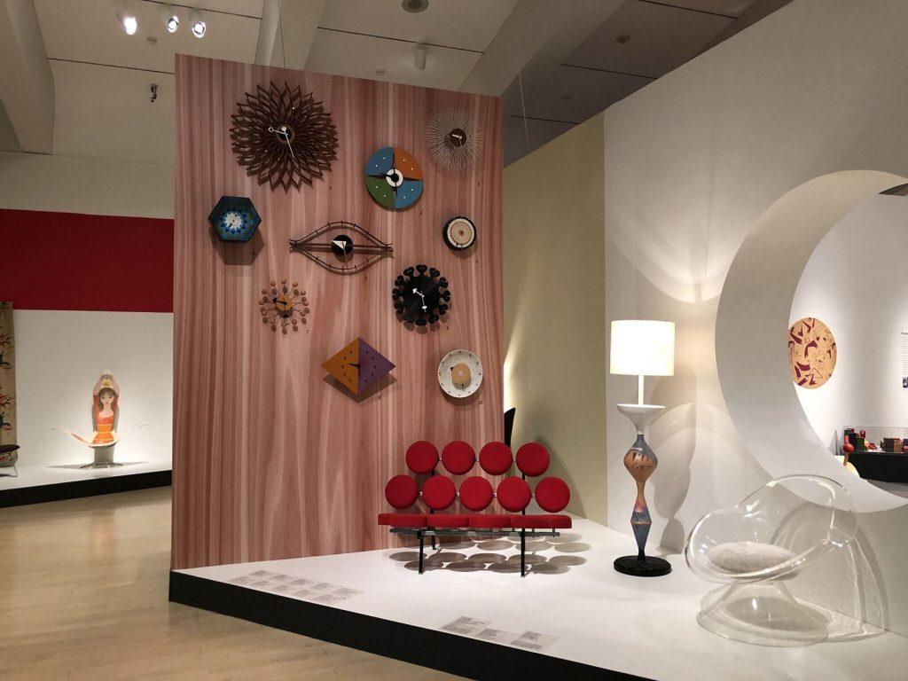 Midcentury living room. Photo courtesy of the Milwaukee Art Museum.