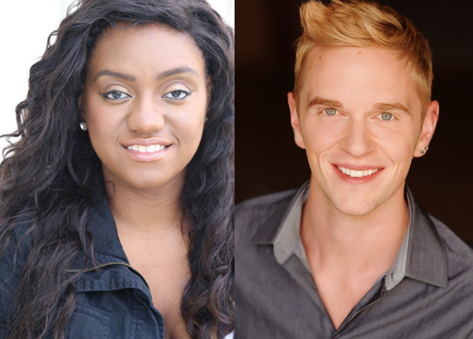 Raven Dockery and Ryan Cappleman. Photo courtesy of the Skylight Music Theatre via the Calendar.