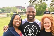 Lisa Montgomery, Ty Montgomery and Heather Perkins. Photo courtesy of Heather Perkins.