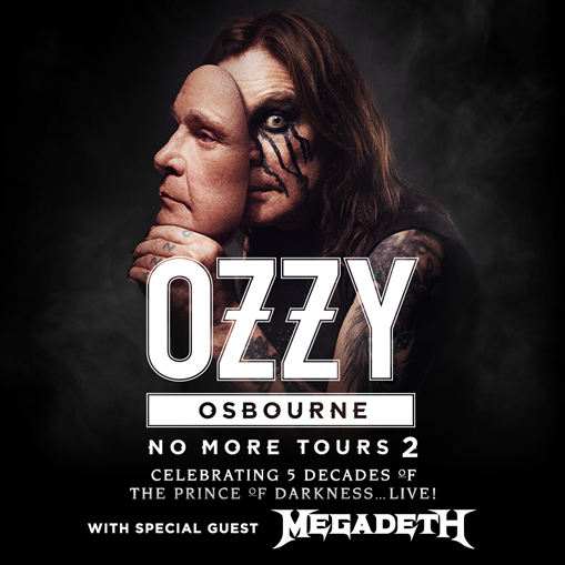 "Summerfest Welcomes Ozzy Osbourne's ""No More Tours 2"" on July 4 with special guest Megadeth"