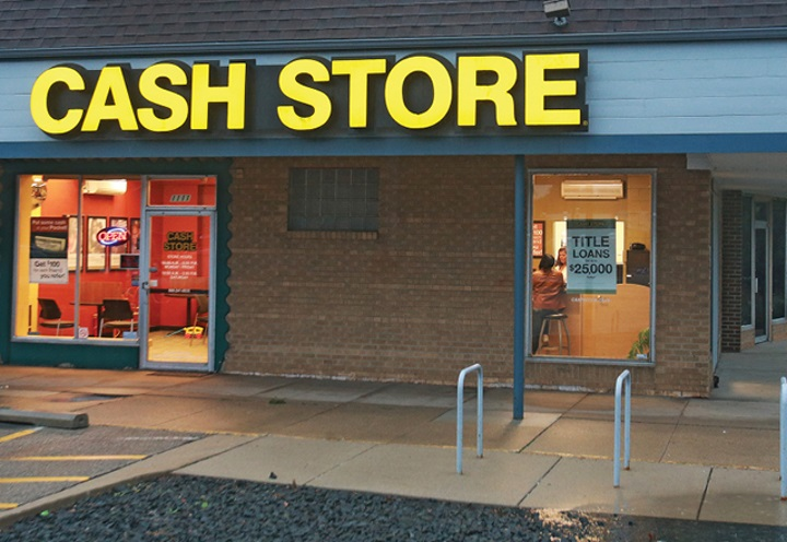 Cash Store. Photo courtesy of the Badger Institute.