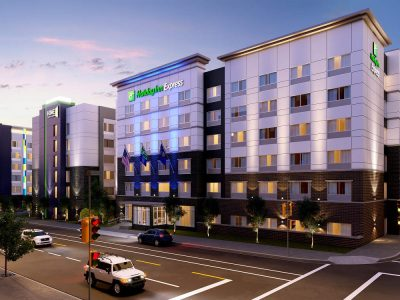 Transformation Underway with New Trio of Hotels on Single Downtown Block