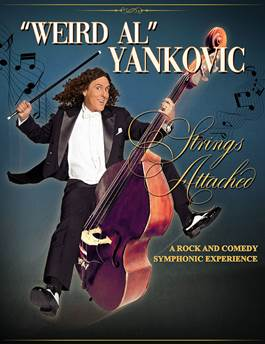 """Weird Al"" Yankovic Announces the Strings Attached Tour"