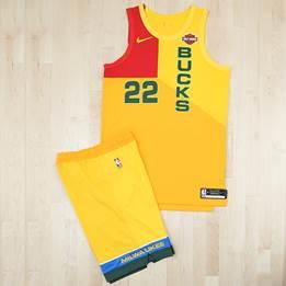 City Edition Uniforms. Photo courtesy of the Milwaukee Bucks.