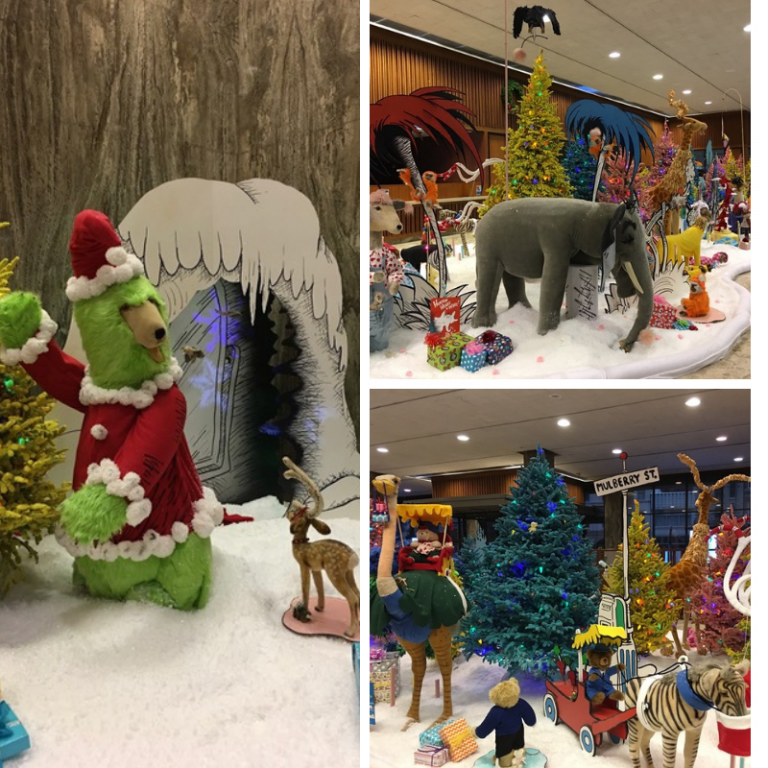 BMO brings the world of dr. Seuss to life with its latest holiday exhibit. Photo courtesy of BMO Harris Bank.