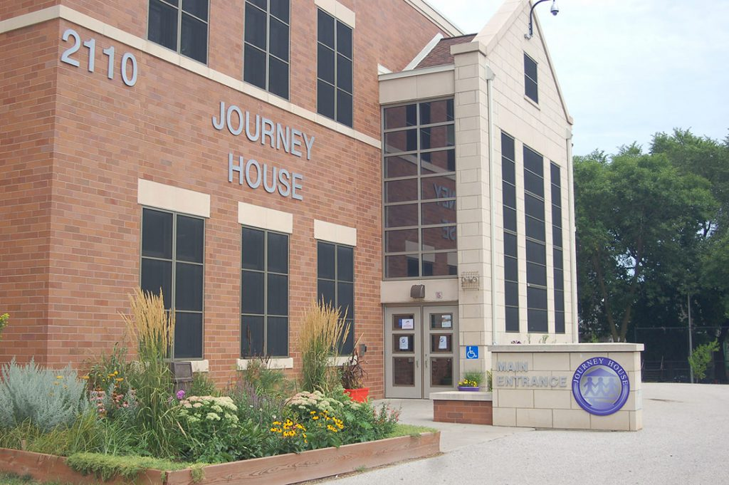 Journey House opened its new community center at 2110 W. Scott St. in June 2012. The new building is attached to the south side of Longfellow School. Photo by Jenny Whidden/NNS.