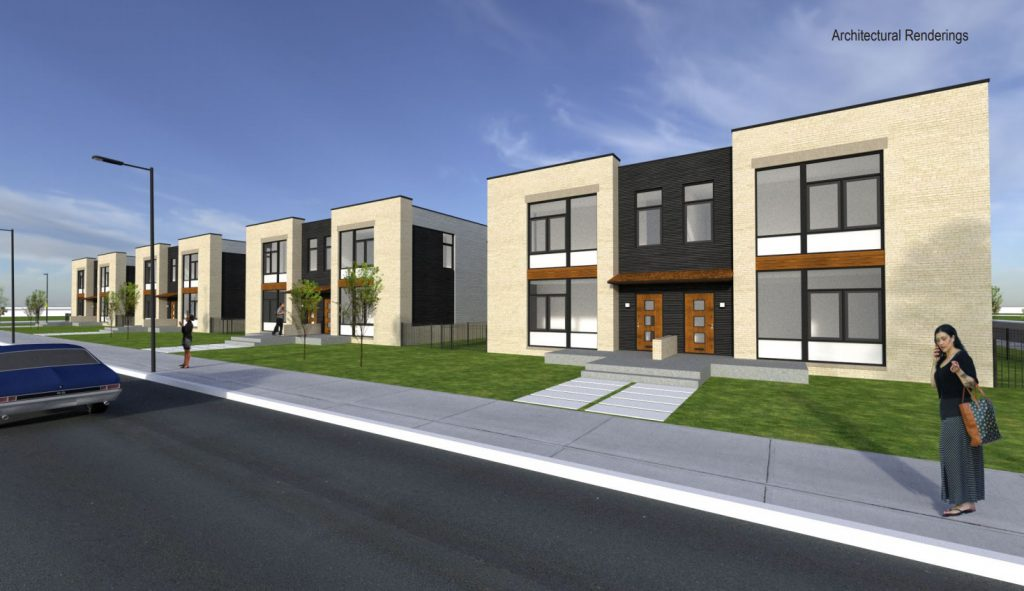 Rendering of McKinley School plans by Korb + Associates Architect.