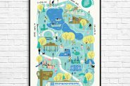 Washington Park. Map designed by Lauren Marvell.
