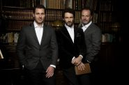 The Celtic Tenors. Photo courtesy of the Marcus Center for the Performing Arts.