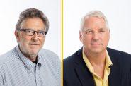 Richard Grusin and Richard Stockbridge. Photo courtesy of UWM.