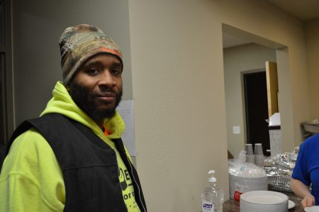 DaVaughn Patterson says Washington Park has been going through some positive changes. Photo by Ana Martinez-Ortiz/NNS.