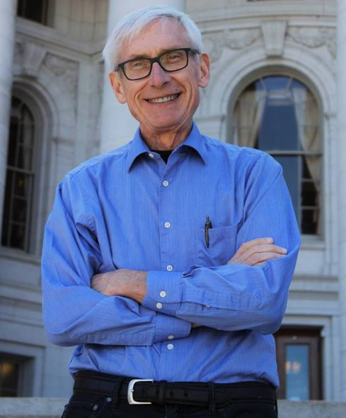 Tony Evers. Photo from Governor-Elect Tony Evers Facebook page.