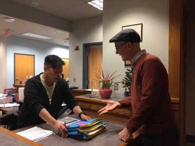 Bob Peterson turns in 3,000 nomination signatures for citywide school board race