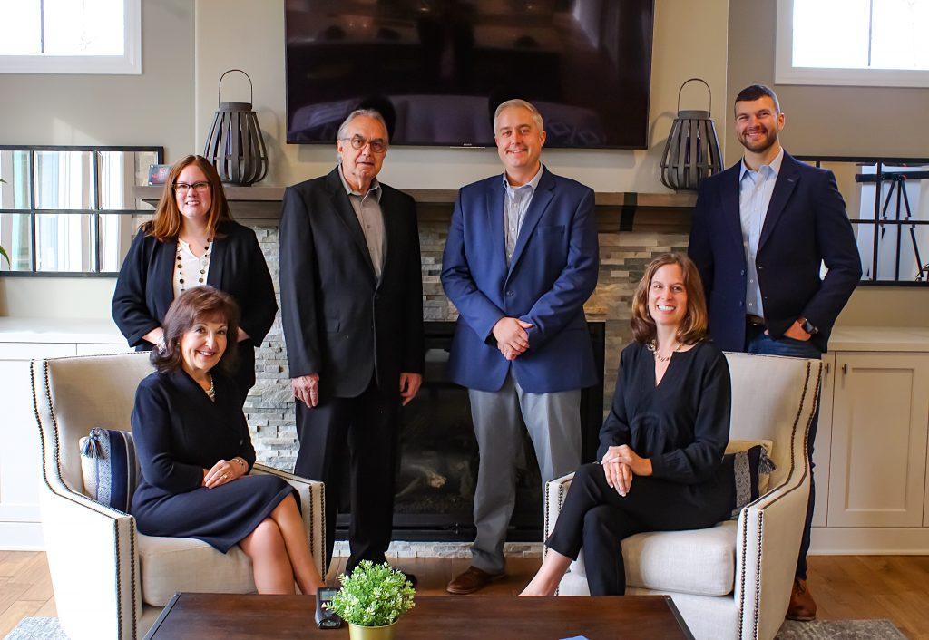 Nikolic Group - Stefanie Cole, Sue Nikolic, Bosko Nikolic, Paul Nikolic, Ursulla Russo and Brandon Becker. Photo courtesy of Keller Williams Reality – Milwaukee North Shore.