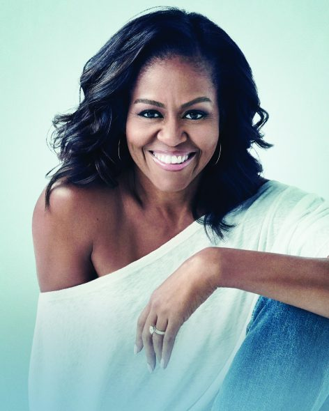 Michelle Obama. Photo courtesy of the Wisconsin Center District.