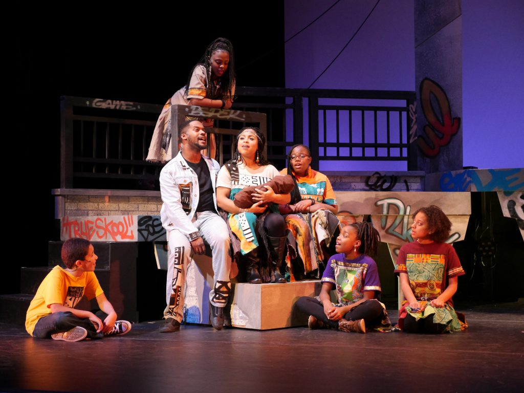 Black Nativity by Langston Hughes. Photo by Jenny Plevin.