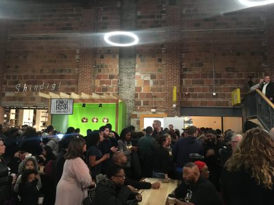Eyes on Milwaukee: Huge Crowd At Sherman Phoenix Opening