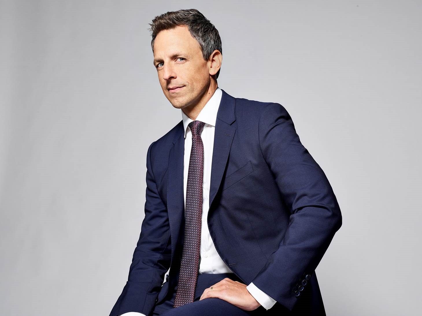 Seth Meyers. Photo courtesy of the JCC via the calendar.