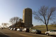 Town of Lake Water Tower. Photo taken by Carl Baehr.