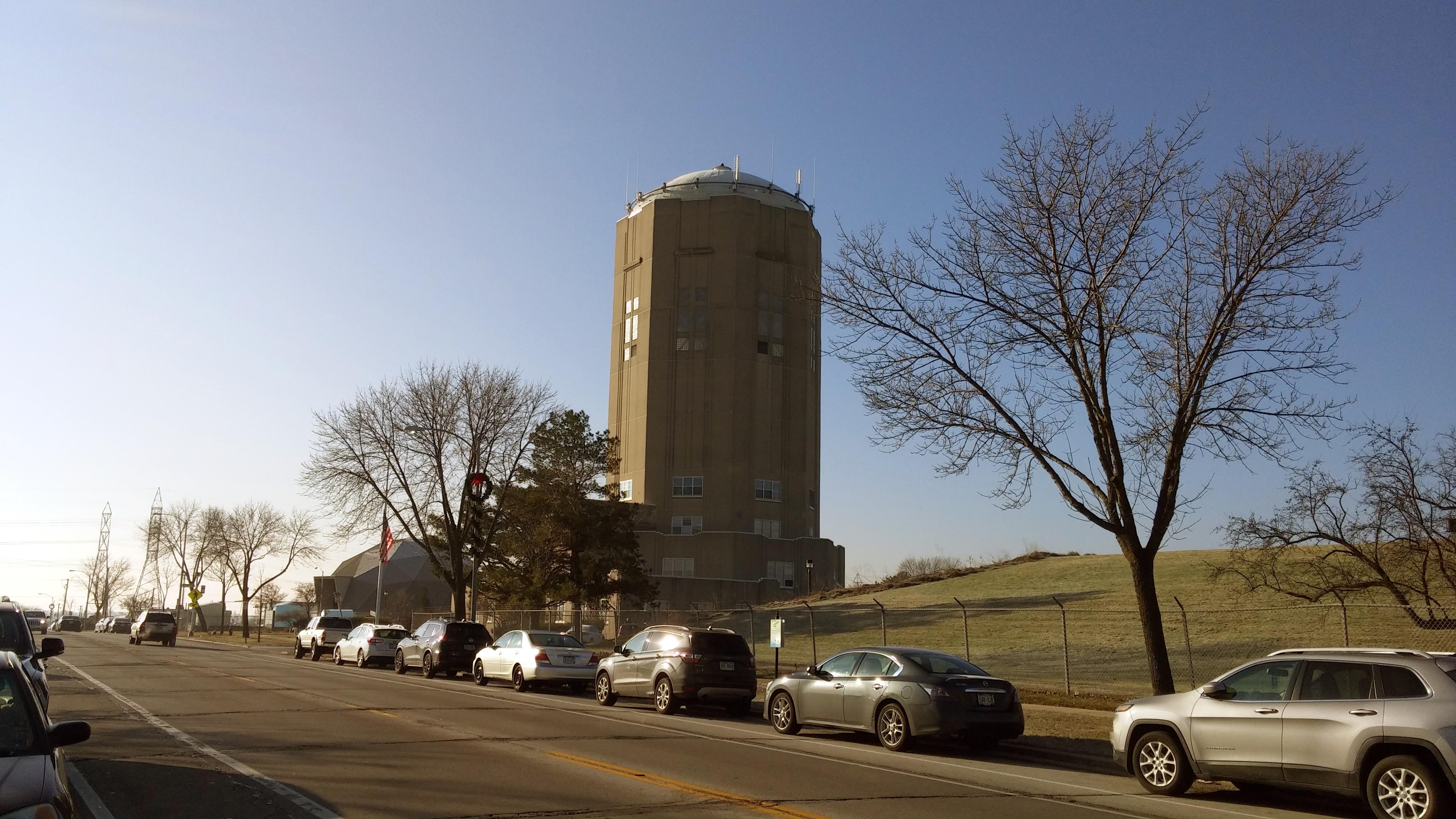 Town of Lake Water Tower. Photo taken by Carl Baehr.