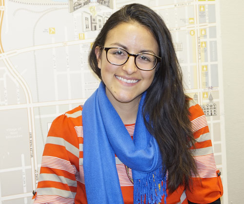 Brianna Sas-Perez started at LBWN as the community outreach manager in 2013 and became the executive director in 2016. Photo by Andrea Waxman/NNS.