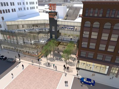 "Downtown Returns: GRAEF And 3rd Street Market Hall To Anchor Reimagined ""Avenue"""