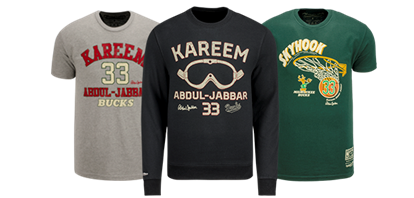 Milwaukee Bucks and Mitchell & Ness Launch Kareem Abdul-Jabbar Collection