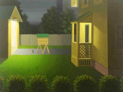 Visual Art: Stagnant Scenes of Suburbia