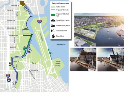 Eyes on Milwaukee: Riverwalk Expanding to Harbor District