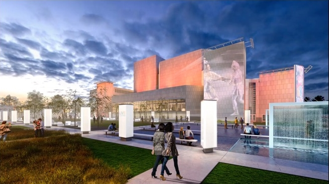 Marcus Center Campus Master Plan Rendering. Rendering by HGA.