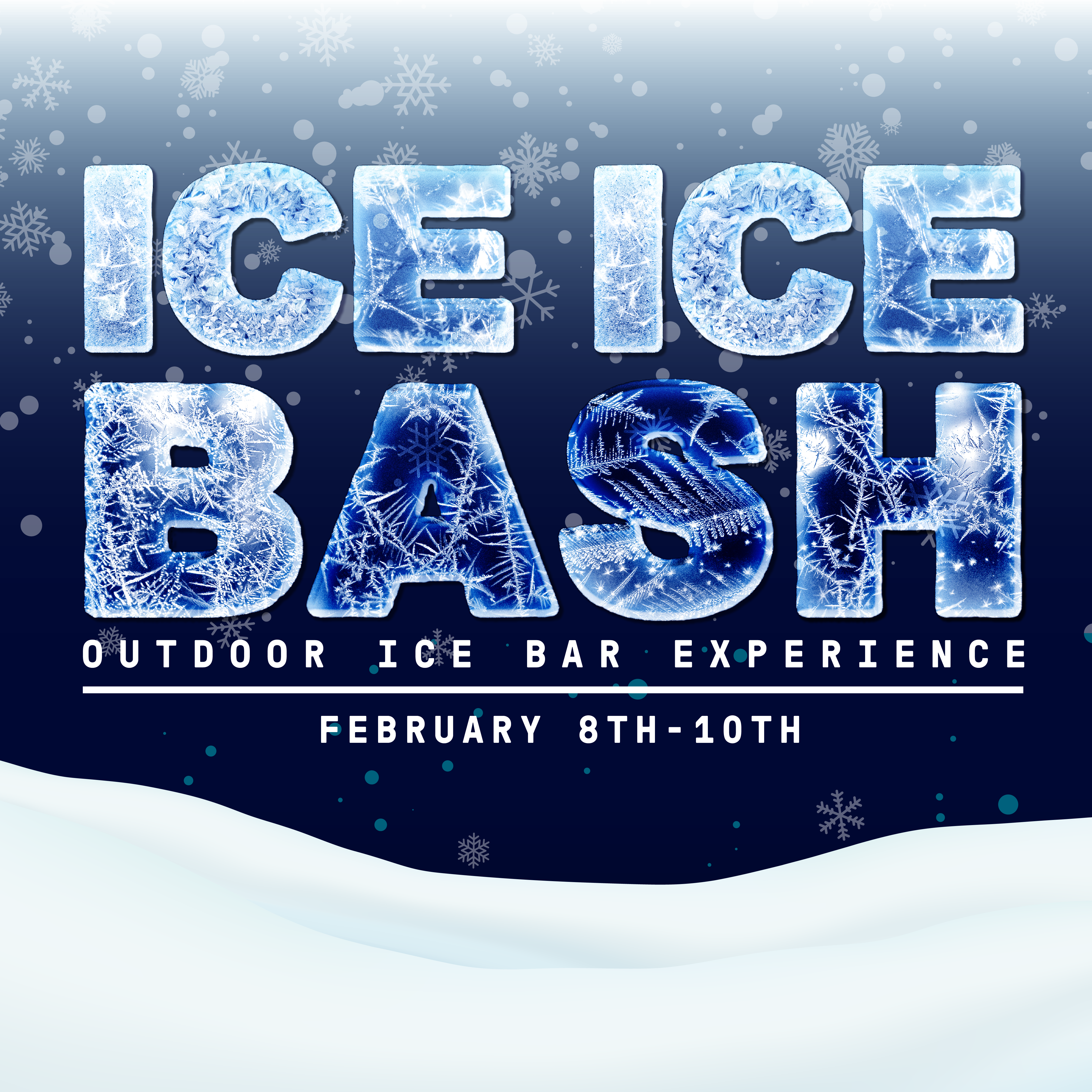 Glass + Griddle and MKE Brewing Co. Host Ice Ice Bash – an Outdoor Ice Bar Experience