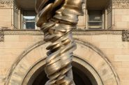"""Mixed Feelings"" by Tony Cragg. Photo by Tom Bamberger."