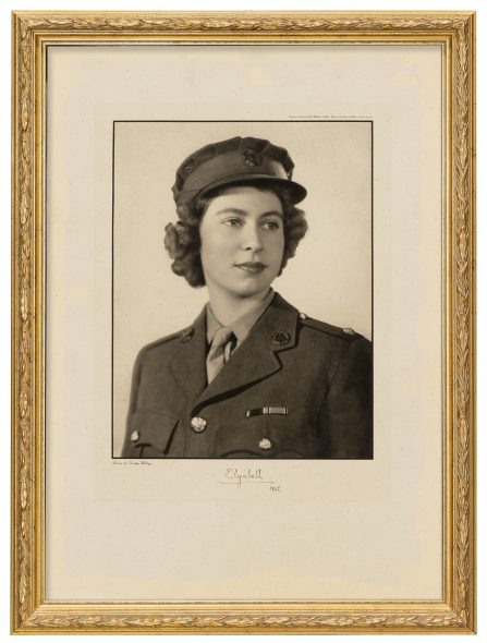 Queen Elizabeth II  Dorothy Wilding (1893—1976), 1945 Collection of Jodi and John Eastberg