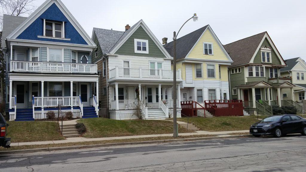 Logan Avenue homes. Photo by Carl Baehr.