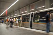 MARTA N3 (North Avenue) station. Photo is in the Public Domain.