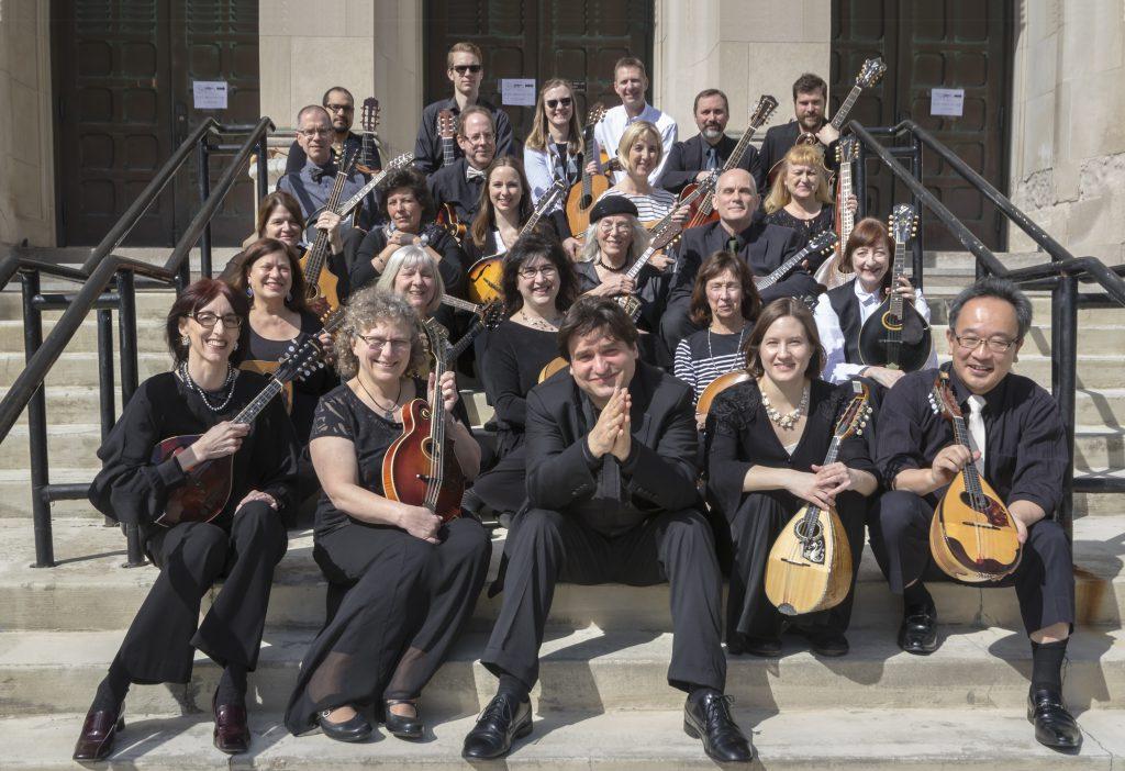 Milwaukee Mandolin Orchestra. Photo courtesy of the Milwaukee Mandolin Orchestra.
