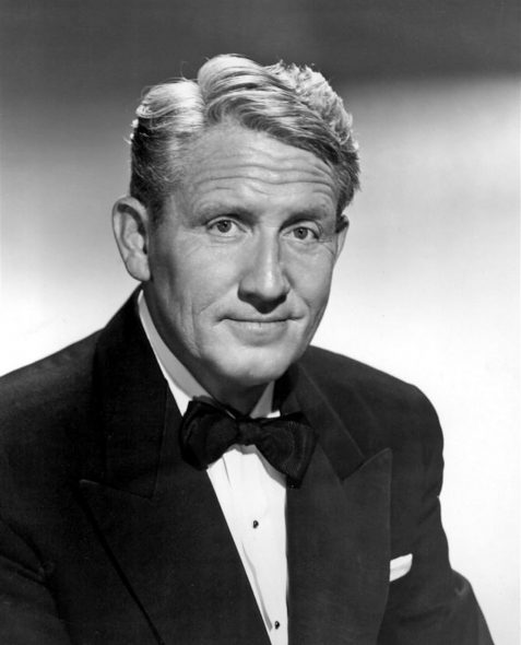 Spencer Tracy. Photo is in the Public Domain.