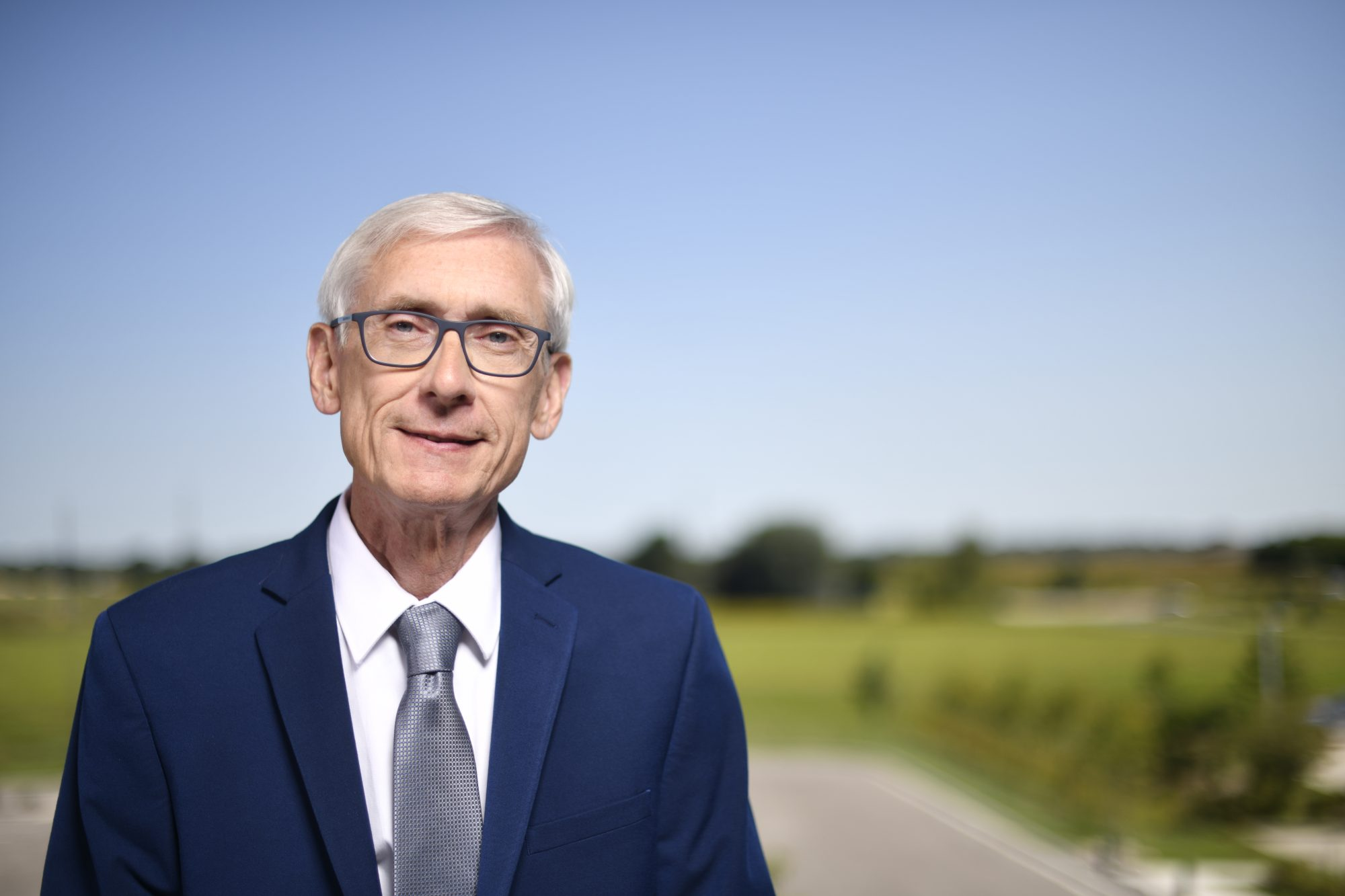 Gov. Evers Attends GridEx V Exercise at the Wisconsin Dept. of Military Affairs