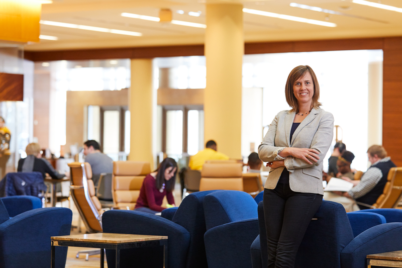 Angela Schultz. Photo courtesy of Marquette University.