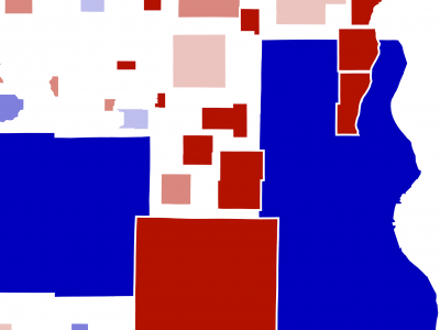 Cartogram Makes Last Election Look Different