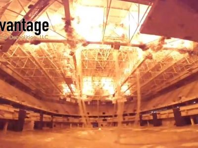 Eyes on Milwaukee: Watch the Bradley Center Demolition From the Inside