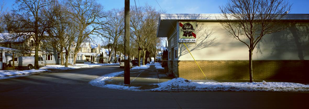 Cop Shoppe Pub in Wausau, photographed in December 2017. Photo courtesy of Kip Proslowicz