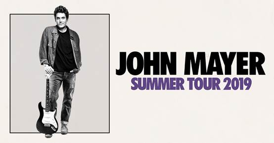 John Mayer to Perform at Fiserv Forum on Aug. 6