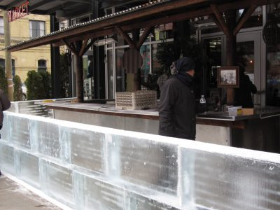 Now Serving: The Return of the Ice Bars