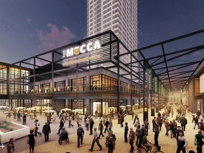 The MECCA Sports Bar and Grill to Open at the Entertainment Block