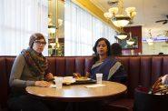 """""""Bombay Sweets – Sari 35,"""" Lois Bielefeld and Nirmal Raja. Photo courtesy of The Warehouse MKE."""