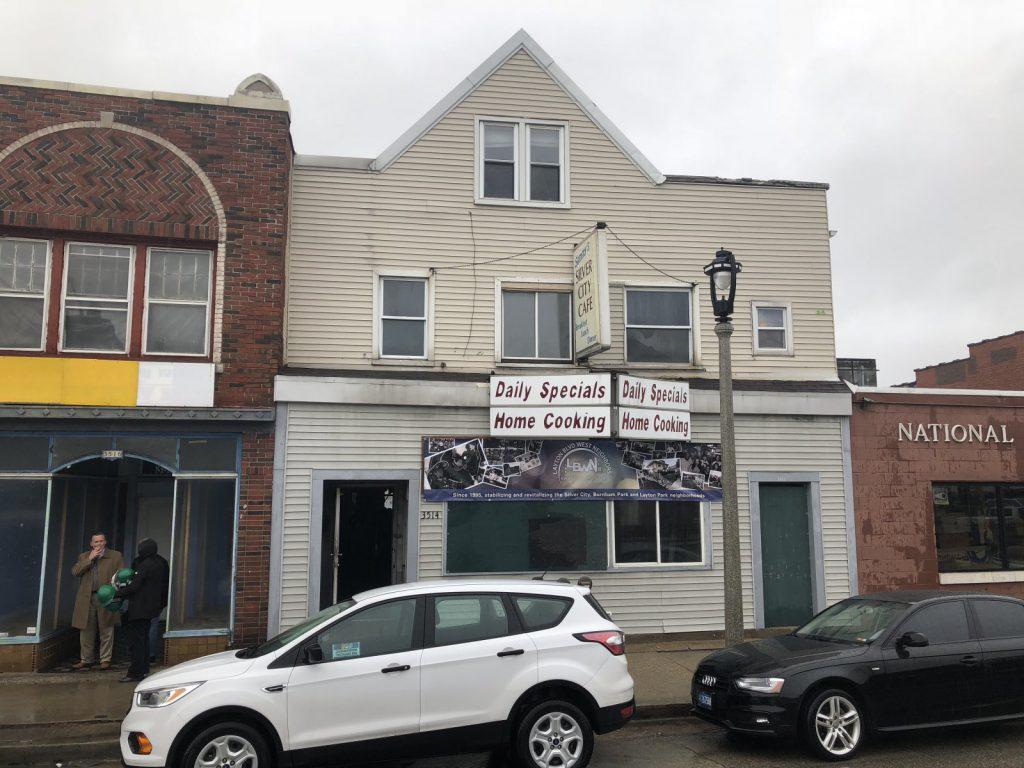 Future home of Orenda Cafe, 3514 W. National Ave. Photo by Jeramey Jannene.