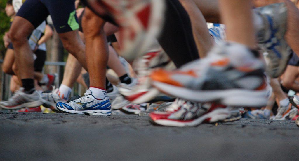 Running. Photo by Josiah Mackenzie. (CC BY 2.0)